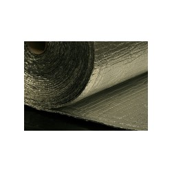 Noppenfolie aluminium + coating twee zijdes 7mm dik