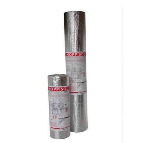 Noppisol aluminium noppenfolie 0.6x25 meter